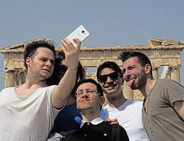 Selfie at the Parthenon. , Dennis E C - May 2017