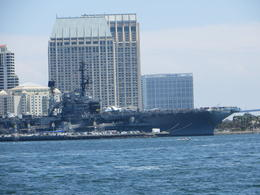 View of the harbor, USS Midway , Donald H - August 2017