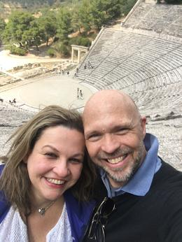 Thank you Greece and Viator! Jim and Lisett , 90daysoulmate - August 2017