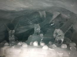 Inside the ice palace , Ruri - October 2017