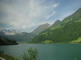 on the road to Jungfraujoch , Gail - June 2012
