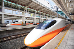 High speed train in Taiwan - June 2012