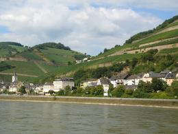 The Rhine Valley. A small town on the bank of the Rhine, Uttara B - August 2010