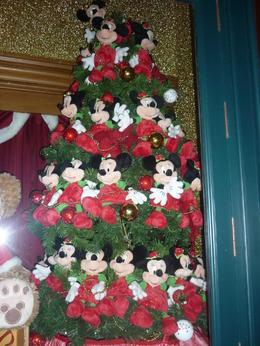 prachtige kerstboom met mickeys , rene v - December 2013