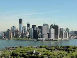 An amazing view of Manhattan ... such a treat to see from here. , D J N - May 2012