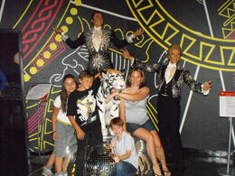 With Siegfried and Roy, Traveler from Texas - July 2011