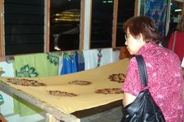 We see some examples of the work done at the printing factory , Peter T - May 2011