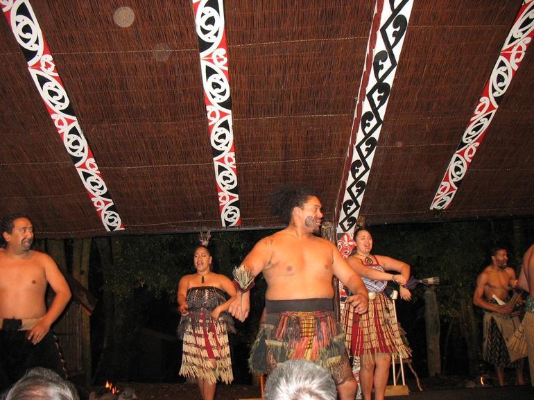 Maori concert - Rotorua