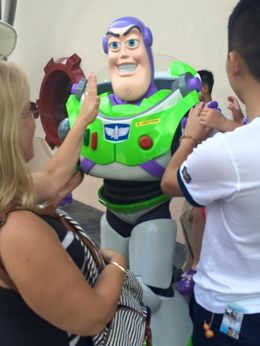 Buzz took a fancy to me, was nearly To Infinity and Beyond! , flojo - February 2016