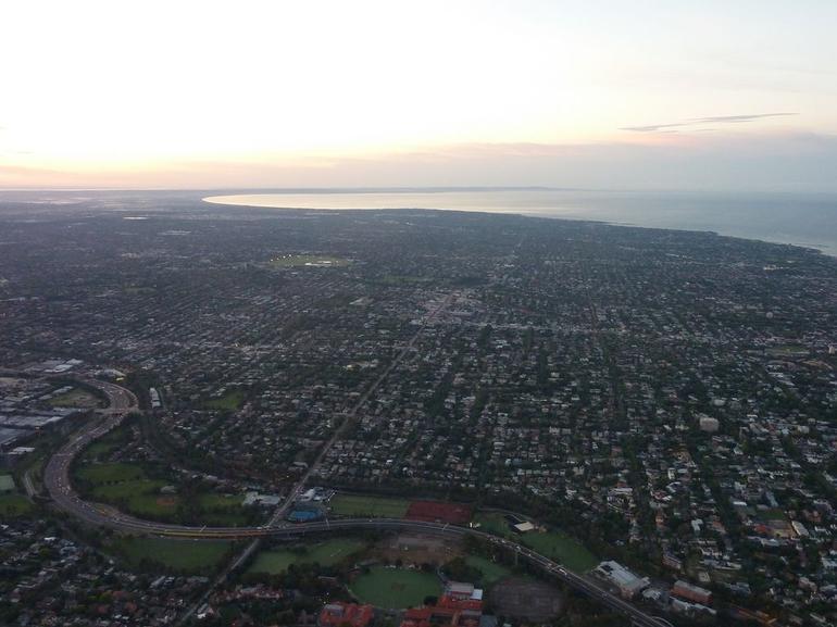 Melbourne is a big flat city - Melbourne