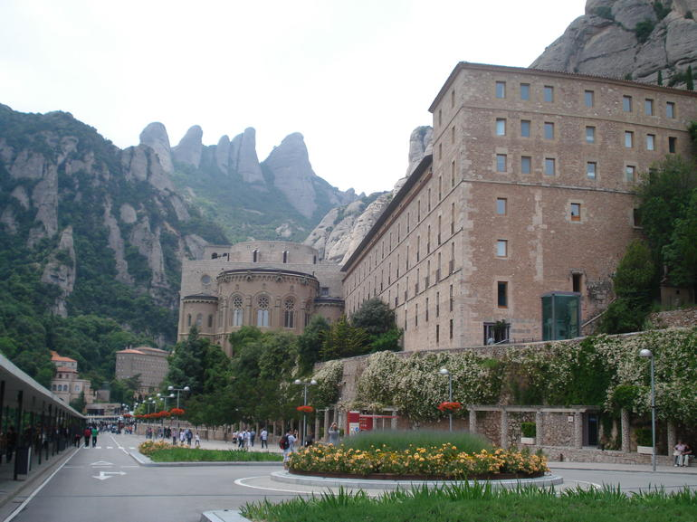Montserrat - jagged mountain - Barcelona