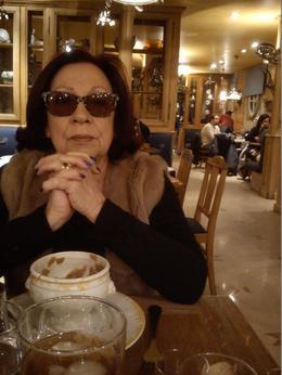 A minha esposa Mifá , Maria de Fátima A - January 2015