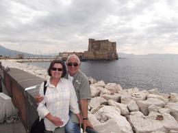 Naples Bay stop on the way to Pompeii. Maryann & Lou, Louis C - October 2010