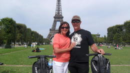 Tracy and Greg seeing Paris on segways! , Tracy W - August 2012