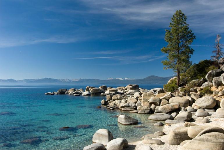 Sand Beach - Lake Tahoe