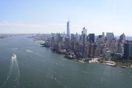 Vista del sur de Manhattan desde el oeste, con el río Hudson. , JaviCM - August 2016