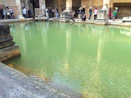 On the ground floor of the bath, looking across the beautifully coloured water. , Brett S - December 2014
