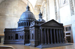 Model St. Paul's Cathedral - May 2013