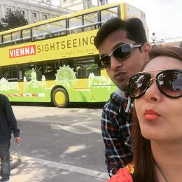 Me with my wife thoroughly enjoyed over Vienna Visit with Hop on Hop Off Pass , Arpit S - June 2016