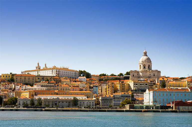 View of Lisbon from the Tagus River - Lisbon