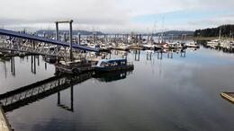 Boat at dock , Robert C - September 2014