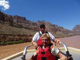 This is us on the boat ride at the Colorado river. , Huibrecht R - August 2017