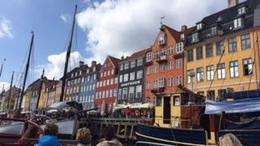 The docks of Nyhavn, , Rhianna S - August 2017