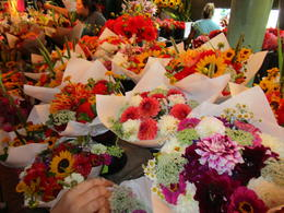 Gorgeous flowers at the Pike Place market , Richard T - September 2017