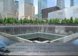 It was incredibly moving to gaze into the massive reflecting pools that mark the footprints of the Twin Towers, Jeff Dobbins - August 2012