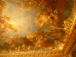 Some of the lesser rooms had wonderful ceiling also. , Ken S - May 2012