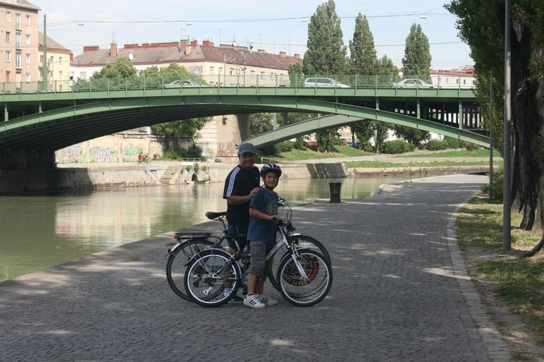 Benjamin Gomez Sr & Jr. - Bike Ride in Vienna - Vienna