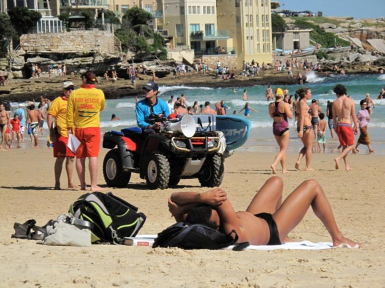 Busy day at Bondi -