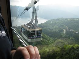 On the cable car in Hakone., Julia B - June 2010