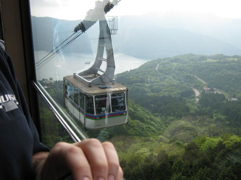 Cable car ride - Tokyo