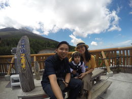 Family time with the great Mt. Fuji , rockjehiel - July 2016