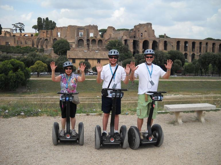 In front of the Circus Maximus - Rome