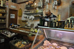 This was a great shop to buy cheese and Balsamic glaze w/ white truffle. , Becky - April 2014