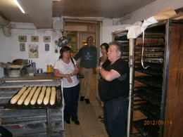 We left with warm bread under our arms , Tina - September 2012