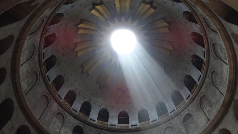 The Chuch of The Holy Sepulchre, The Armenian Chapel Dome - Tel Aviv