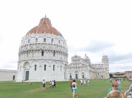 Photo taken as we turned a corner to walk into the Campo dei Miracoli , mnorozco09 - July 2014