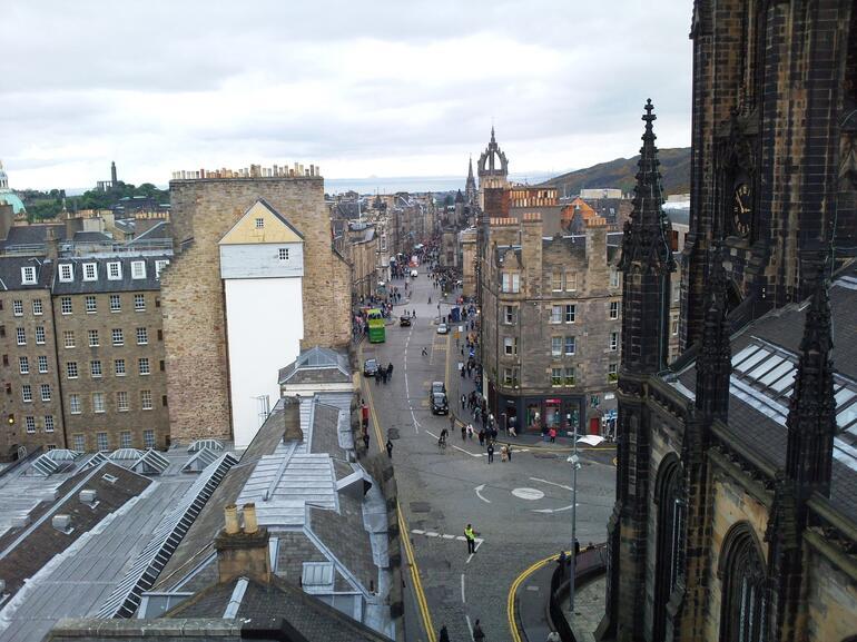 The Royal Mile stretch - Edinburgh