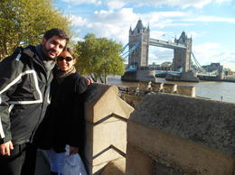 My husband and me from the Tower of London! , Lorenext - November 2012
