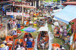 Enjoy a private day tour of the floating markets of Damnoen Saduak and get a behind the scenes look at rural life that lies beyond Bangkok., Viator Insider - December 2017