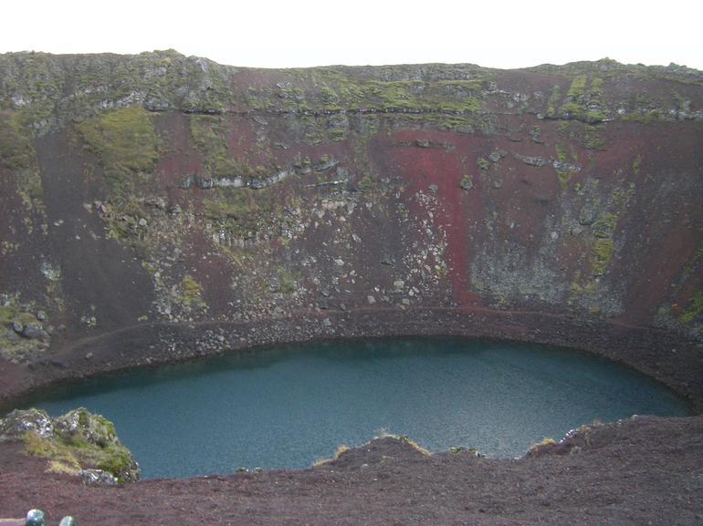 Volcanic crater - Reykjavik