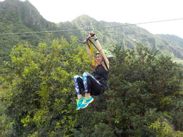 The second zipline , kenndavi - May 2016