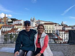 Nelson and Arnie, São Miguel Lisbon Guided Walking Tour, Nov. 6, 2016 , ROBERT NELSON B - November 2016