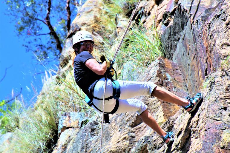 Abseiling the Kangaroo Point Cliffs in Brisbane photo 9