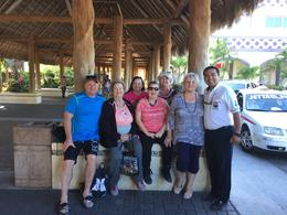 Family group and our wonderful guide Leo. , Sherry M - February 2017