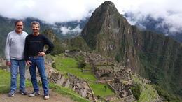 Don and Ron conquer Machu Picchu , Donald G - May 2017