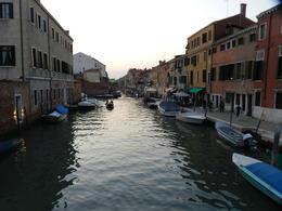 Views of the sunset in Venice , La'Chelle - November 2017